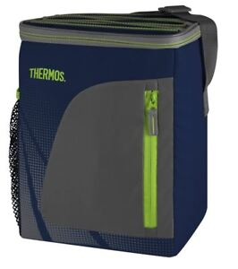 Thermos Radiance Cooler Bag Cooling Navy 12 Can Insulated Camping Food Storage