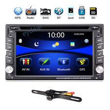 "6.2"" 2Din Navigation Car Stereo Bluetooth Gps/Dvd/Usb/Sd/Radio Player+Map+Camera"