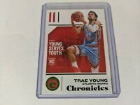 2018-19 Chronicles Trae Young #94 GREEN RC Rookie - Atlanta Hawks COOL CARD!!🏀