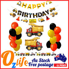 Deluxe 48 pcs Trucks Balloons Set Air Inflatable Birthday Party Decors