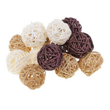 15pc Lovely Rattan Wicker Cane Ball for Garden Wedding Party Home Decoration