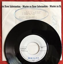 "KATE BUSH -Running Up That Hill- Very Rare German 7"" Test Pressing /Vinyl Record"