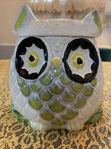 Anthropologie Owl Cookie Jar