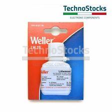 Flussante liquido Weller 25 ml con pennello Nuova Etichetta Brush Flux lötwasser