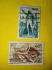 TIMBRE - POSTZEGELS - FRANKRIJK - FRANCE 1936  NR.314/15 (F 251)