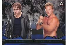 #4 DEAN AMBROSE vs CHRIS JERICHO 2016 Topps WWE Then Now Forever WWE RIVALRIES