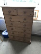 Solid Reclaimed Pine Drawer Chest - 5 & 2.