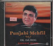 Punjabi Mehfil - Dil Da Rog - Pervaiz Mehdi [Cd] Made in uk Cd