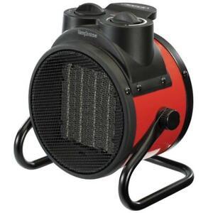 Draper 2KW Ceramic Fan Heater Space Air Warmer Electric Workshop/Garage 92967