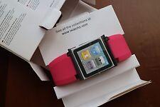 IWatchz Nano Clip System Pink Rot für iPod Nano 6th Gen 8GB & 16GB