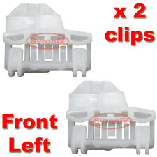 VW POLO WINDOW REGULATOR CLIPS - FRONT LEFT Passenger Side on RHD