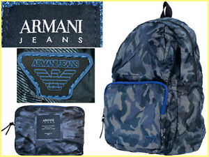 ARMANI Backpack Folding Man  Boutique 120 €, Here Less! AR50 L-1