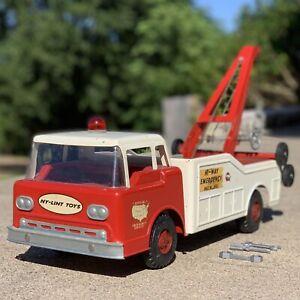 1960's Ford COE Ny-lint Semi HI-WAY Emergency No. 3400 Tow Truck Wrecker w/Tools