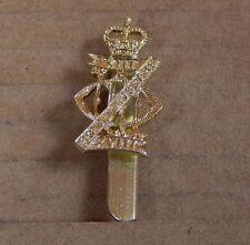 British Army XIII XVIII Hussars Cap Badge 1980's Staybrite military  staybright