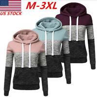 Womens Hooded Hoodie Slim Sweatshirt Ladies Coat Jacket Outwear Pullover Sweater