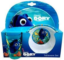 Finding Dory 3-Piece Melamine Dinner Set   Tumbler, Bowl + Plate   Nemo   Disney
