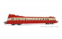 Jouef HJ2410 HO Gauge SNCF ABJ3 Red Roof Diesel Railcar