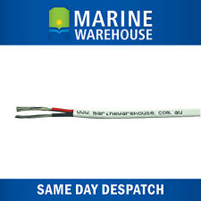 6mm Twin Core Sheath Battery Cable -  Sold Per Metre - Marine Tinned Copper Wire