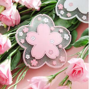 Cherry Blossom Sakura Coaster Insulation Pad Table Mats Heat-insulated YD