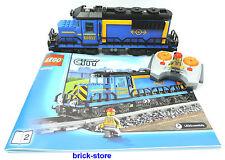 LEGO City/Chemin de fer 60052 LOCOMOTIVE/TRAIN DE MARCHANDISES/LOCOMOTIVE DIESEL