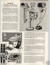 1964 PAPER AD Neptune Mighty Mite Clinton Chief Outboard Motor 1.7 5 HP