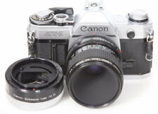 Canon AT-1 camera with Canon FD 50mm f3.5 standard & macro Lens, fd-25 1:1 AE-1