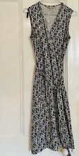 DIANE VON FURSTENBERG DVF 100% SILK WRAP DRESS Size 10/12 UK