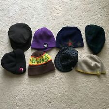 Bundle Lot of Beanies Hats RVCA Hurley Volcom Roxy Winter Skate Snow
