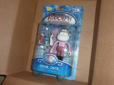 New listing 2003 Memory Lane Rudolph Casual Santa w Throne Misfit Nesting Doll & Toy Mouse