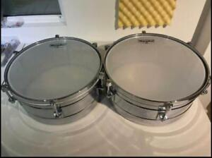 Set of Two Timbales with Hard Cases