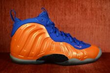 WORN TWICE NIKE LITTLE POSITE ONE FOAMPOSITE Knicks Orange GS 644791-800 Size 6y