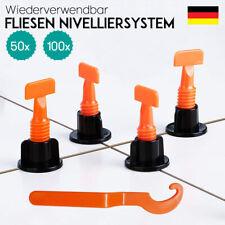 50-200 x Nivelliersystem Verlegehilfe Fliesen Verlegen Plan System Keile Laschen
