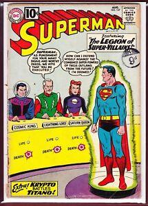 DC_SUPERMAN # 147 _ GD/VG _1961.