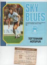 Away Teams S-Z Tottenham Hotspur Home Teams C-E Football League Fixture Programmes
