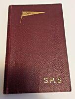 The Shenandoah 1908 Shenandoah High School Yearbook Shenandoah Iowa S.H.S Book