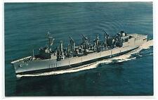 USS Kalamazoo AOR-6 Replenishment Fleet Oiler US Navy Ship #2 postcard