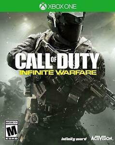 Activision Call of Duty: Infinite Warfare For Xbox One Standard Edition COD