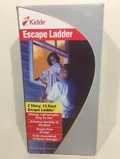 Kiddie Fire Escape Ladder 2 Story Anti Slip Rungs 13 Foot Tangle Free Deer Stand