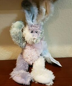 "Easter 12"" Ganz Pastel Spumoni The Bunny Rabbit HE4508 Snuggle Stuffed Bunny NEW"