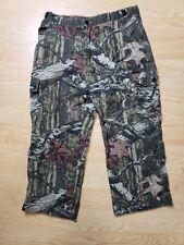 Scent Shield Camo Hunting Cargo Pants Break-up Infinity Pattern Mens Size Lg EUC