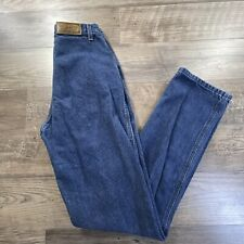Vintage Authentic Rockies Mom Jeans Blue Denim High Waisted Tag Sz 29/9 XLong