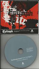 Propagandhi THE WEAKERTHANS Civil Twilight PROMO DJ CD