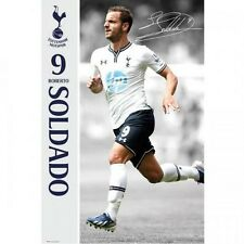 Tottenham Hotspur FC Roberto Soldado poster English Premier League new Spurs