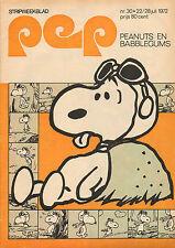 PEP 1972  nr. 30 - CAROLE KING / PETER VAN STRAATEN / PEANUTS / GERARD VIANEN