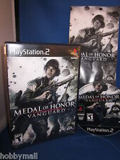 Playstation PS2 Medal of Honor Vanguard Video Game