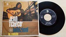 """JEAN TCHECO' - INIBIZIONI/HO CANTATO - 45 GIRI 7"""" ITALY"""