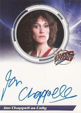 "Blakes 7 - S1JC Jan Chappell ""Cally"" Autograph Card"
