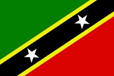 5' x 3' St Kitts and Nevis Flag Saint Christopher Caribbean Banner