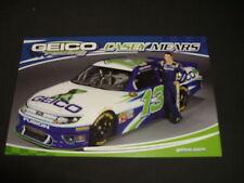 2012 CASEY MEARS #13 GEICO NASCAR POSTCARD