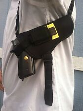 SHOULDER HOLSTERS HORIZONTAL ALL SIZES DETACH AND USE AS BELT HOLSTER THUMBREAK